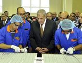 رئيس الوزراء يفتتح خطا لإنتاج الألواح الشمسية بالهيئة العربية للتصنيع