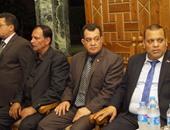 رؤساء أحزاب وشخصيات عامة يشاركون فى عزاء أحمد جبيلى بمسجد عمر مكرم