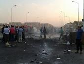 انفجار سيارة بمحيط قسم ثان 6 أكتوبر  والعثور على أشلاء ضحايا