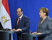 على هامش قمة العشرين.. السيسى يبحث مع أنجيلا ميركل سبل تعزيز تعاون البلدين