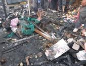 الحماية المدنية تسيطر على حريق فى مخلفات بحدائق القبة