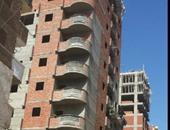 """""""واتس آب اليوم السابع"""": أبراج مخالفة وبدون ترخيص بمحرم بك بالإسكندرية"""