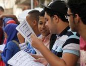 """طلاب """"علوم ساسية""""بالإسكندرية يعرفون طلاب الثانوية بمواد الكلية ومجالات العمل"""