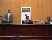 السماح لوسائل الإعلام بحضور جلسة الحكم فى قضيتى التخابر واقتحام السجون