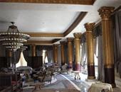"""بالصور..""""داعش"""" يسيطر على قصر تملكه الأسرة الحاكمة فى قطر بـ""""تدمر""""السورية"""