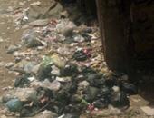 """""""واتس آب اليوم السابع"""": تراكم القمامة بجانب مساكن ملاصقة لحى شبرا الخيمة"""