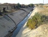 بالصور.. شكوى من نقص مياه الرى فى قرية يوسف السباعى بالسويس