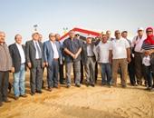 بالفيديو والصور.. وفد نقابة المهندسين يزور موقع العاصمة الإدارية الجديدة