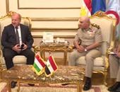 المتحدث العسكرى يعرض فيديو لقاء وزير الدفاع مع نظيره المجرى