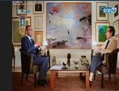 """فاروق حسنى لـ""""خالد صلاح"""":المتحف المصرى الكبير أكبر مشروع ثقافى فى القرن الـ 21"""