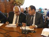 """بالصور.. محمد السويدى يطالب بمحاسبة وزراء عطلوا تصفية """"العامة لمنتجات الجوت"""""""