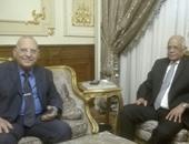 وزير العدل لرئيس مجلس النواب: الإصلاح التشريعى هو السبيل للنهضة المصرية