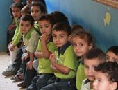 شكوى من عدم توافر مقاعد لأطفال الروضة بمدرسة الشهيد عمرو مسعد بالعبور