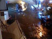 بالصور.. مياه الصرف تغرق شارع الدقهلية فى الإسماعيلية لليوم الثامن