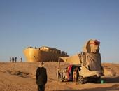 """بالصور.. إسرائيل تصمم نموذجًا لتمثال """"أبو الهول"""" والأهرامات لجذب السياح"""