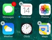 تعرف على القائمة الكاملة للتطبيقات الثابتة التى يمكن إزالتها من iOS 10