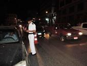 """ضبط 32 مخالفة مرورية و86 """"إشغالات عامة"""" فى حملة أمنية موسعة بدمياط"""