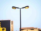 بالصور..نرصد إضاءة الشوارع نهارا بالمهندسين..والكهرباء تحمل الحى المسئولية