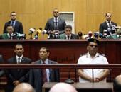 دفاع العريان يطلب رد المحكمة فى محاكمة المعزول وأعوانه بالتخابر مع حماس