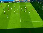 يورو 2016.. بالفيديو.. الحكم يلغي هدفاً لبلجيكا أمام أيرلندا
