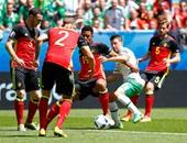 "يورو 2016..بالفيديو..هدف ""ملغي"" فى شوط ""سلبى"" بين بلجيكا وأيرلندا"