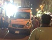 إصابة شخصين فى حادث تصادم درجة بخارية وتوكتوك بدمياط