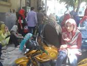 وقفة لطلاب وطالبات الإعدادية للمطالبة بدخول مدارس الثانوية للتمريض بالقاهرة