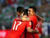 كوبا أمريكا.. تشيلى يُنهى الشوط الأول أمام المكسيك بثنائية