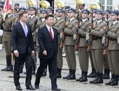 بالصور.. الرئيس الصينى يزور بولندا لتعزيز العلاقات التجارية