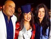 """بالصور.. مجدى الهوارى وغادة عادل يحتفلان بتخرج ابنتهما على """"انستجرام"""""""