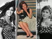 كيف خلدت السندريلا موضة الـ Polka Dot من الجلابية الفلاحى لفساتين السهرة؟