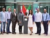 السفير المصرى بإيطاليا يلتقى أعضاء جائزة الدولة للإبداع الفنى