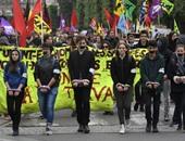 """المئات يتظاهرون بباريس ضد مشروع قانون مكافحة الإرهاب البديل لـ""""الطوارئ"""""""
