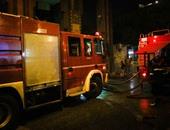 """السيطرة على حريق داخل """"محل بقالة"""" فى أطفيح دون إصابات"""