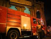 السيطرة على حريق كابل كهرباء فى جامعة القاهرة دون إصابات