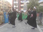 بالصور..  اليونان ترقص 10 بلدى مع فرقة الأقصر فى مهرجان الحضارة