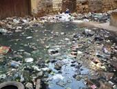 """بالصور.. مياه الصرف تحاصر سكان ميدان """"السلاوى"""" فى الشرقية وتعوق حركة المواطنين"""