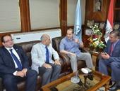 بالصور.. وزير الزراعة يصل كفر الشيخ لتفقد أكبر مزرعة سمكية ومشروعات جديدة