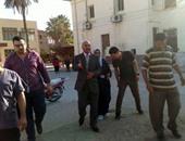 بالصور.. وكيل صحة بنى سويف يتفقد مستشفى الفشن خلال زيارة مفاجئة