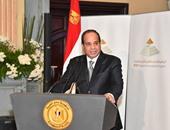 رؤساء 4 هيئات قضائية جدد يؤدون اليمين القانونية أمام رئيس الجمهورية