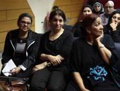 بدء حفل تكريم شاهندة مقلد بقاعة طه حسين بنقابة الصحفيين