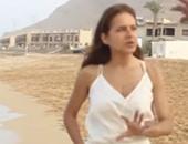 """بالفيديو.. كواليس مشهد غرق نيللى كريم فى """"سقوط حر"""""""