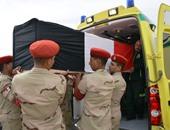 بالصور.. تشييع جثمان شهيد الواجب بسيناء فى جنازة عسكرية بمسقط رأسه بسوهاج