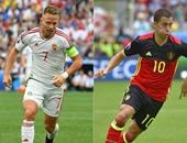 يورو 2016.. انطلاق مباراة بلجيكا والمجر فى ثمن النهائى