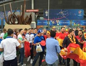 يورو 2016.. الجماهير تتوافد لحضور الموقعة النارية بين إسبانيا وإيطاليا