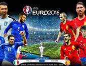 يورو 2016.. التشكيل الرسمى لمباراة إيطاليا وإسبانيا