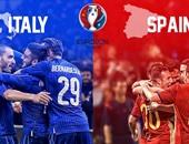 يورو 2016.. انطلاق مباراة إيطاليا وإسبانيا