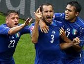 يورو 2016.. إيطاليا تثأر من إسبانيا وتصطدم بألمانيا فى ربع النهائى
