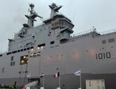 الشركة المصنعة لميسترال: الحاملة عبد الناصر تنفذ تدريبا مع البحرية الفرنسية