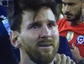 كوبا أمريكا.. شاهد بكاء ميسي بعد خسارة الأرجنتين لقب البطولة